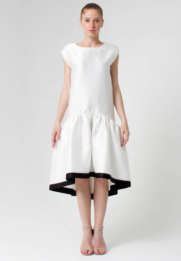 Платье Cauris. Цвет: белый