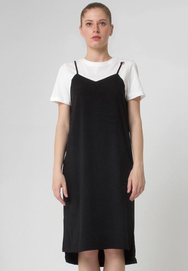 Платье Cauris. Цвет: черно-белый