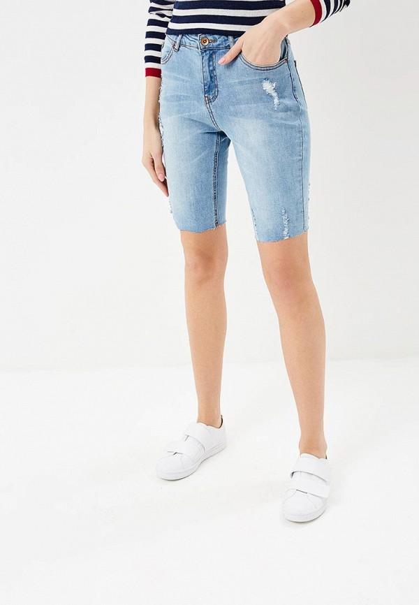 Купить Шорты джинсовые Incity, MP002XW0RUBW, голубой, Весна-лето 2018