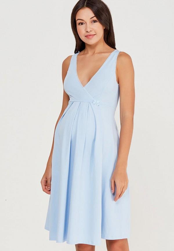Купить Сорочка ночная Hunny mammy, MP002XW0WON1, голубой, Весна-лето 2018
