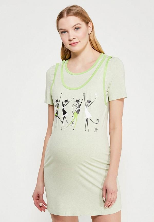Сорочка ночная Euromama Euromama MP002XW0WOUE ночные сорочки linse ночная сорочка