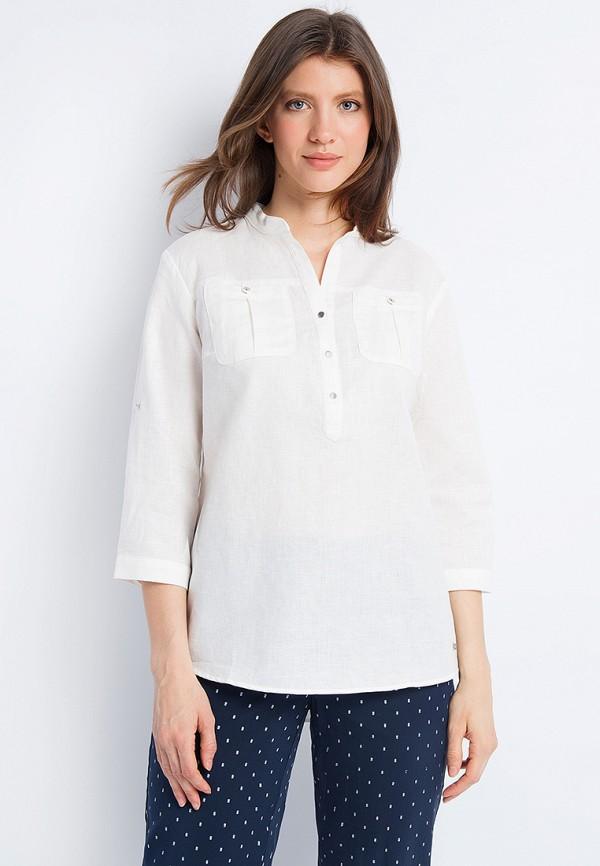 Купить Блуза Finn Flare, MP002XW0XJVZ, белый, Весна-лето 2018