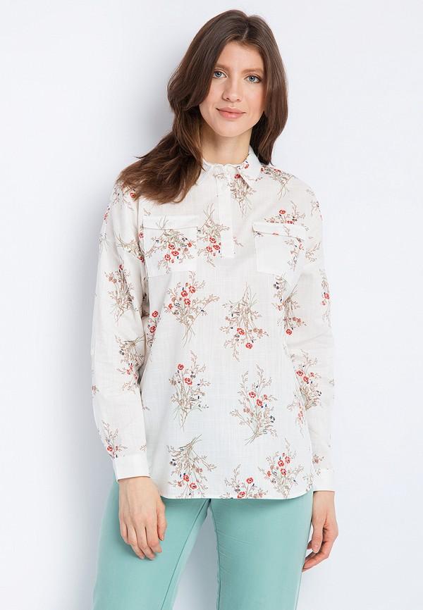 Купить Блуза Finn Flare, MP002XW0XJWF, белый, Весна-лето 2018