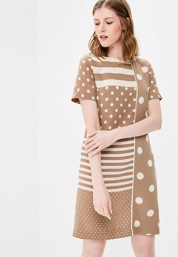 Купить Платье Villagi, MP002XW0XJWL, бежевый, Весна-лето 2018