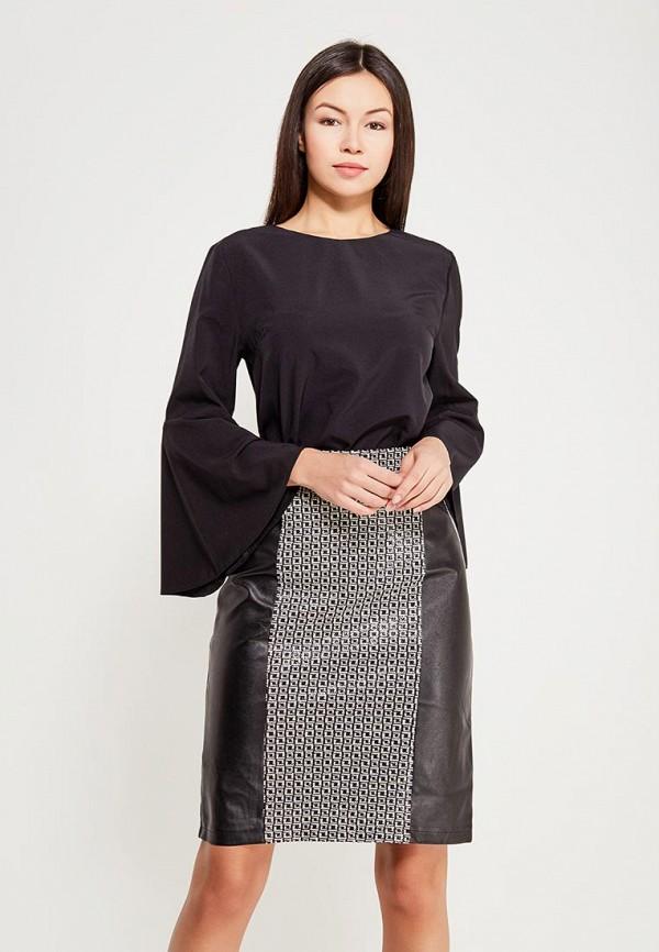 Купить Блуза D'lys, MP002XW0ZZEC, черный, Осень-зима 2017/2018