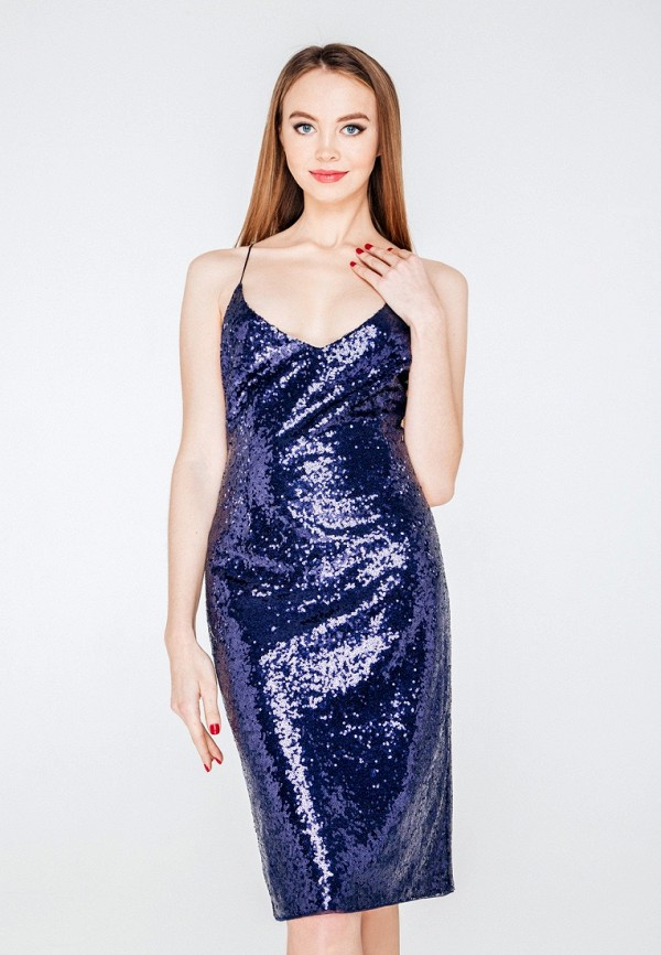 Купить Платье SoloU, MP002XW0ZZLA, синий, Осень-зима 2017/2018