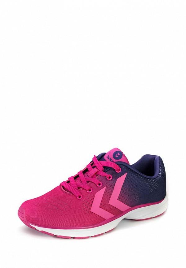 Фото - женские кроссовки Hummel розового цвета