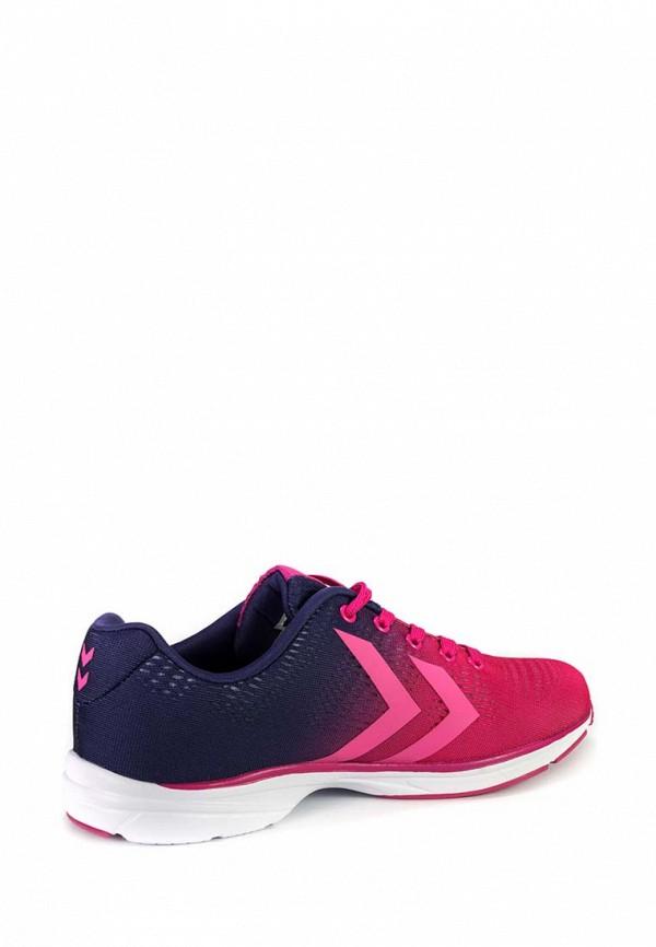 Фото 2 - женские кроссовки Hummel розового цвета