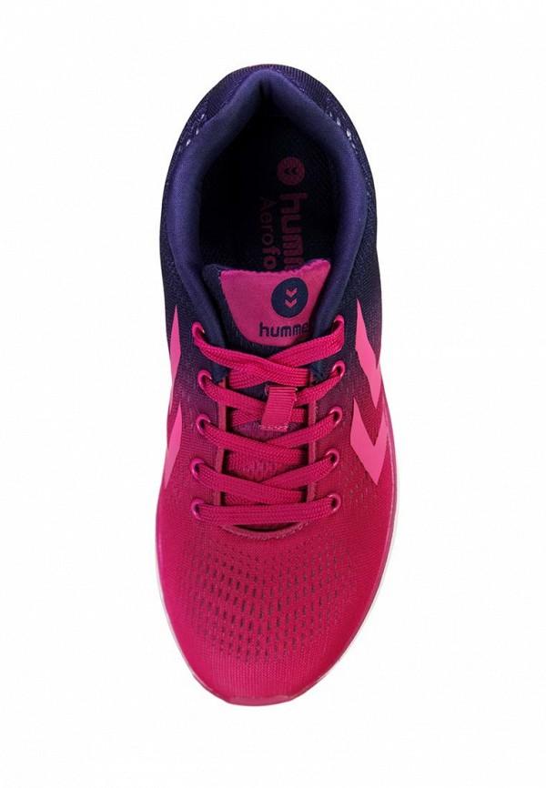 Фото 3 - женские кроссовки Hummel розового цвета