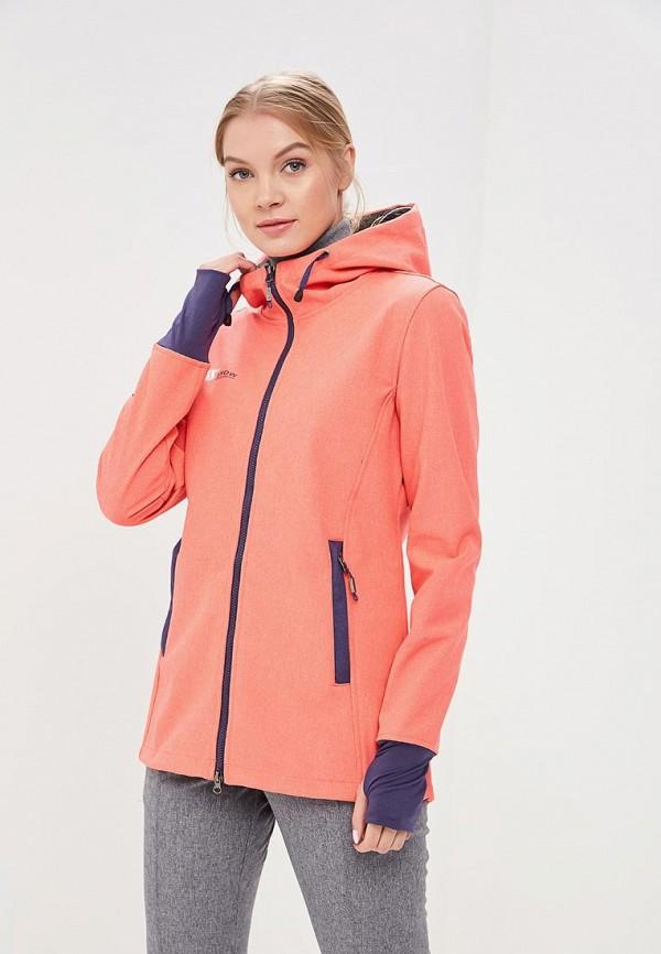 Куртка горнолыжная Snow Headquarter цвет коралловый сезон весна, демисезон, лето страна Китай размер 42, 44, 46, 48, 50