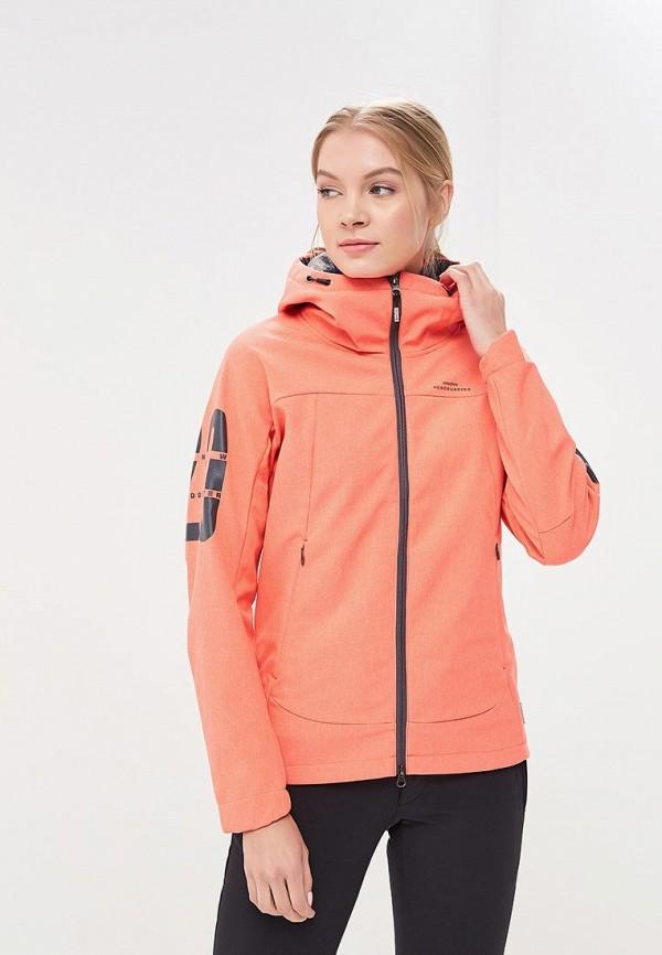 Куртка горнолыжная Snow Headquarter цвет коралловый сезон весна, зима, лето страна Китай размер 42, 44, 46, 48, 50, 52