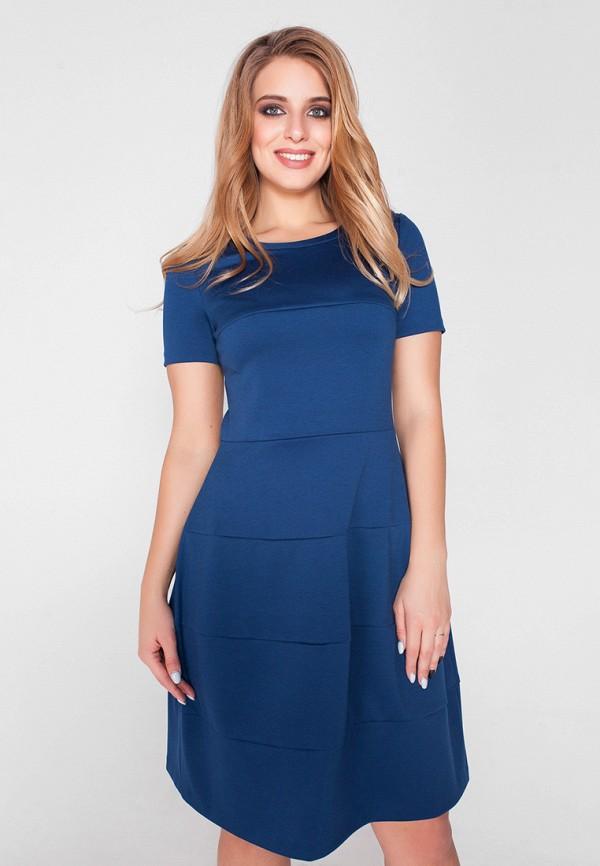 Платье Eliseeva Olesya, MP002XW13HZS, синий, Весна-лето 2018  - купить со скидкой
