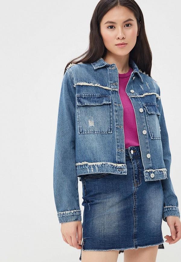 Куртка джинсовая Lime, MP002XW13I0O, синий, Весна-лето 2018  - купить со скидкой