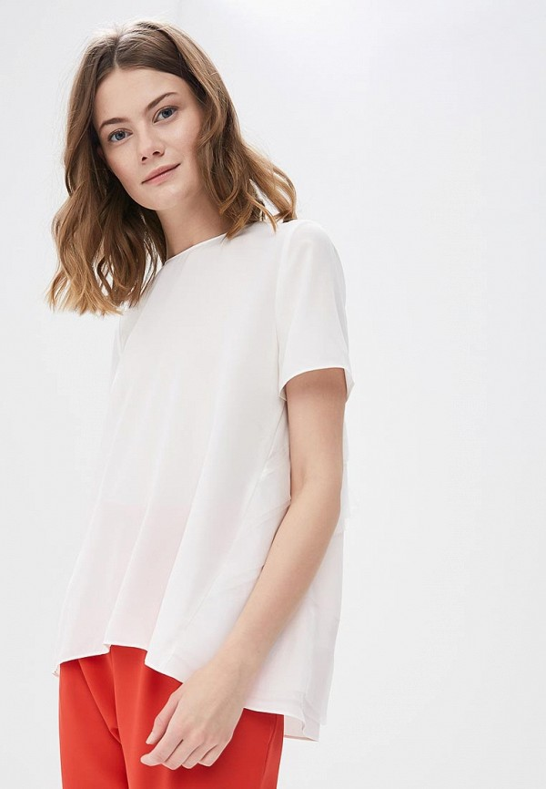 Блуза Lime, MP002XW13I0Q, белый, Весна-лето 2018  - купить со скидкой