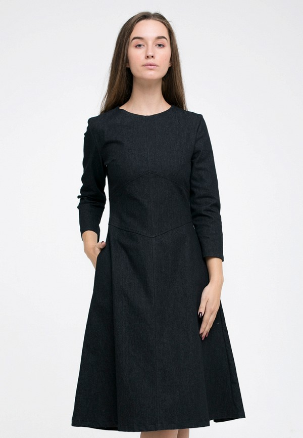 Платье джинсовое Kira Mesyats Kira Mesyats MP002XW13KXI