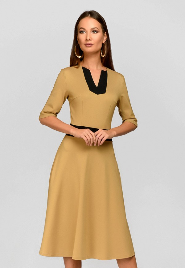 Платье 1001dress 1001dress MP002XW13L44 платье 1001 dress цвет бежевый