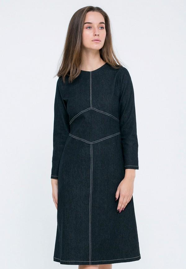 Платье джинсовое Kira Mesyats Kira Mesyats MP002XW13L9C