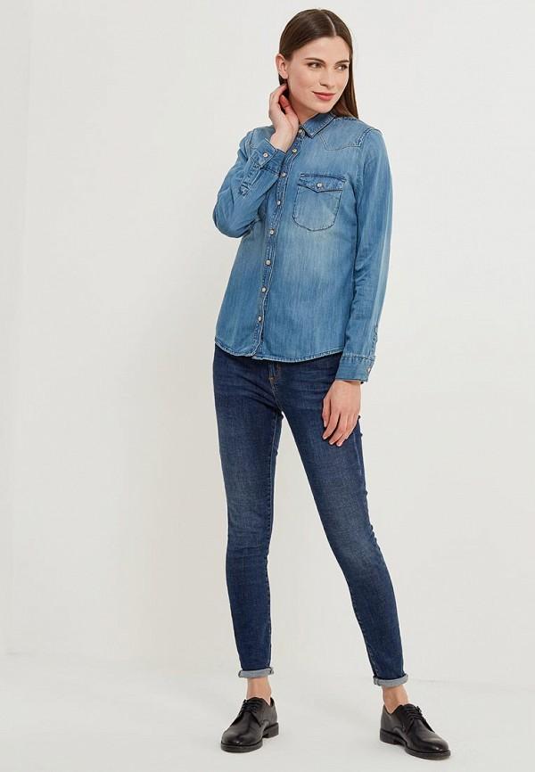 Фото Рубашка джинсовая Colin