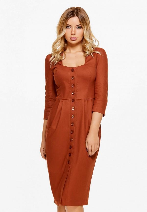 Купить Платье SoloU, MP002XW13NF7, оранжевый, Осень-зима 2017/2018
