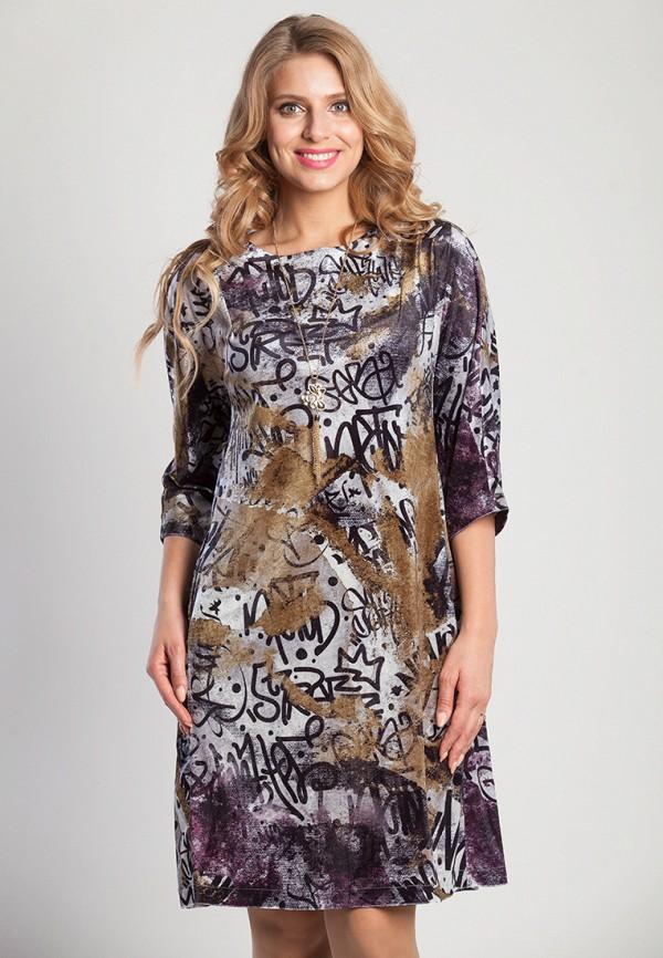 Платье Olga Peltek, Далия, MP002XW13NG0, разноцветный, Осень-зима 2017/2018  - купить со скидкой