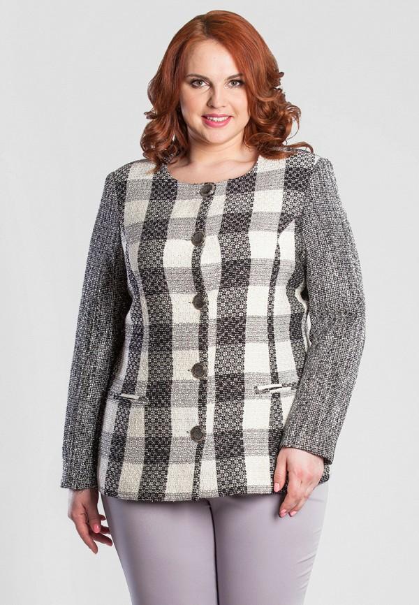 Купить Жакет Olga Peltek, MP002XW13NHR, серый, Осень-зима 2017/2018