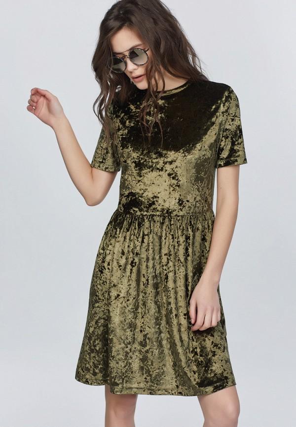 Купить Платье Fly, MP002XW13NYI, хаки, Осень-зима 2017/2018