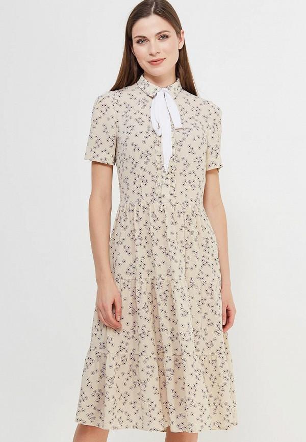 Купить Платье Villagi, MP002XW13O1C, бежевый, Весна-лето 2018
