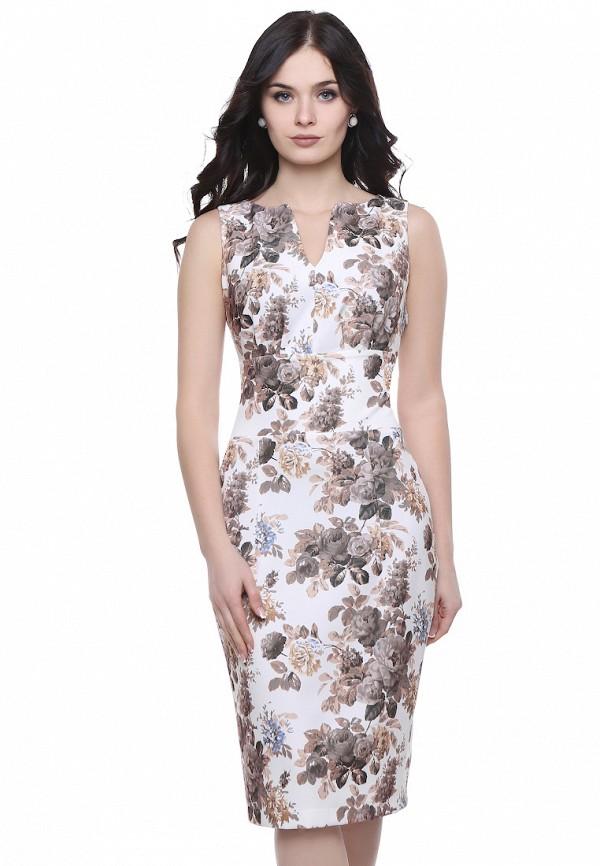 Купить Платье Grey Cat, ISSOL, MP002XW13OWF, бежевый, Осень-зима 2017/2018