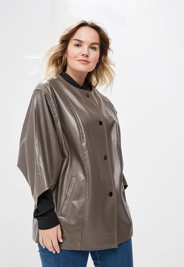Куртка кожаная Aliance Fur Aliance Fur MP002XW13R4B