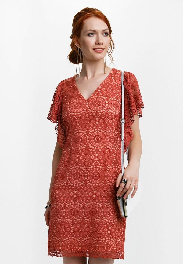 Платье Audrey Right, MP002XW13RDF, красный, Весна-лето 2018  - купить со скидкой
