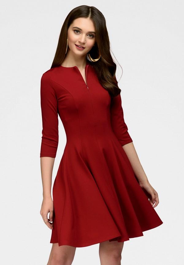 Купить Платье 1001dress, MP002XW13S6I, бордовый, Весна-лето 2018
