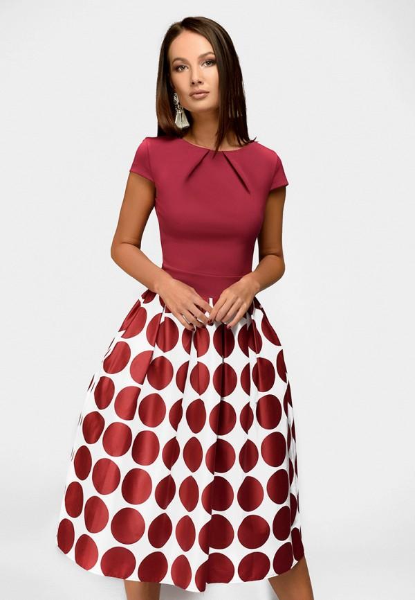 Купить Платье 1001dress, MP002XW13UKA, бордовый, Весна-лето 2018