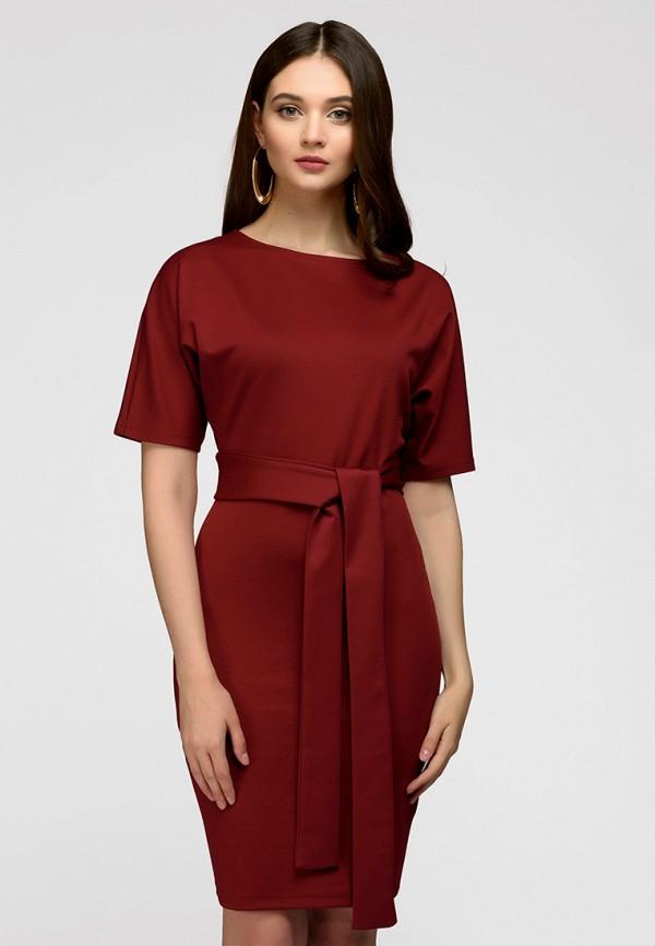 Купить Платье 1001dress, MP002XW13UKF, бордовый, Весна-лето 2018