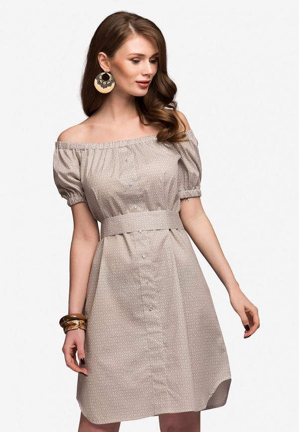 Платье 1001dress 1001dress MP002XW13UKZ платье 1001 dress цвет бежевый