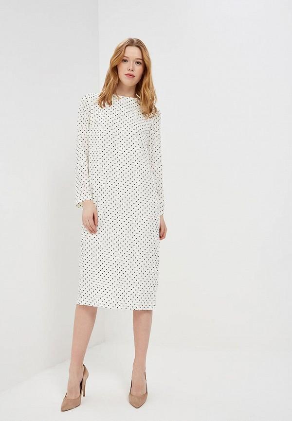 Платье 12storeez 12storeez MP002XW13VAE 12storeez рубашка с карманами ромб белый