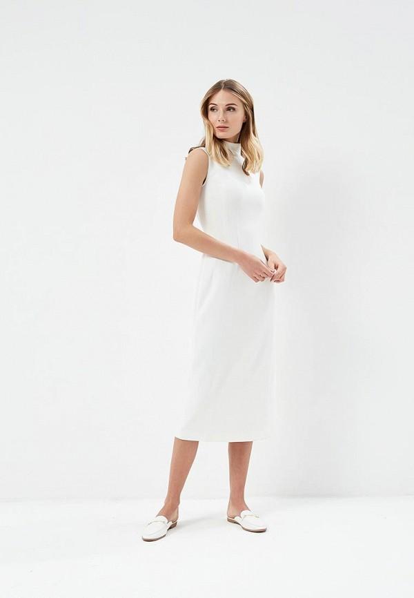 Платье 12storeez 12storeez MP002XW13VAP 12storeez рубашка с карманами ромб белый