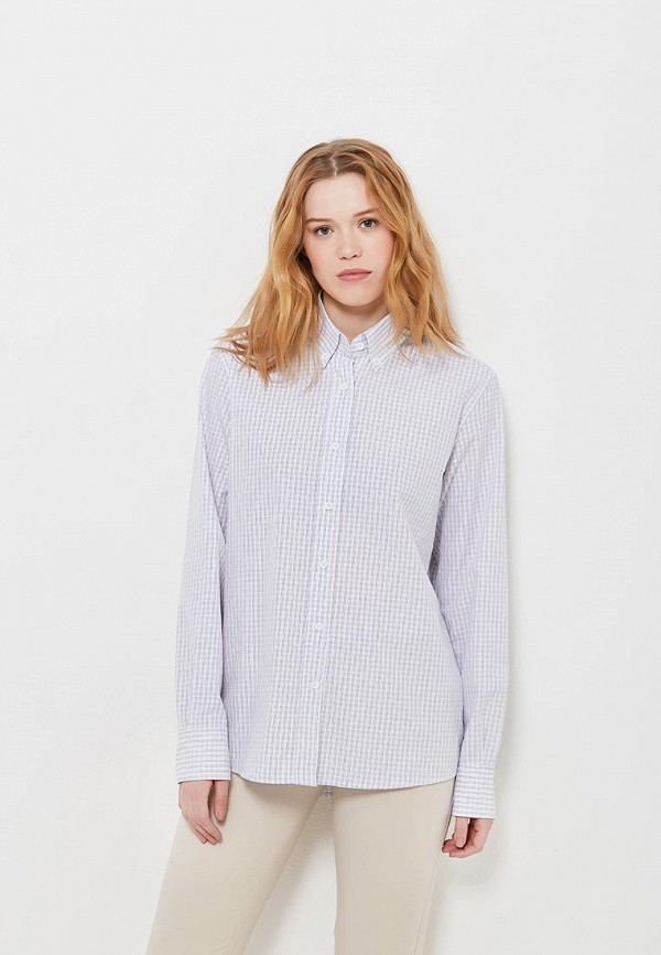 Рубашка 12storeez 12storeez MP002XW13VB2 12storeez рубашка с карманами ромб белый