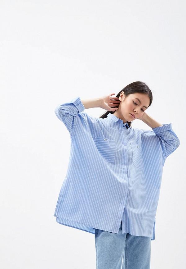 Рубашка 12storeez 12storeez MP002XW13VJA 12storeez рубашка с карманами ромб белый