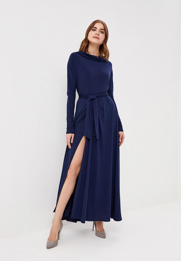Купить Платье Alina Assi, MP002XW13WBF, синий, Осень-зима 2017/2018