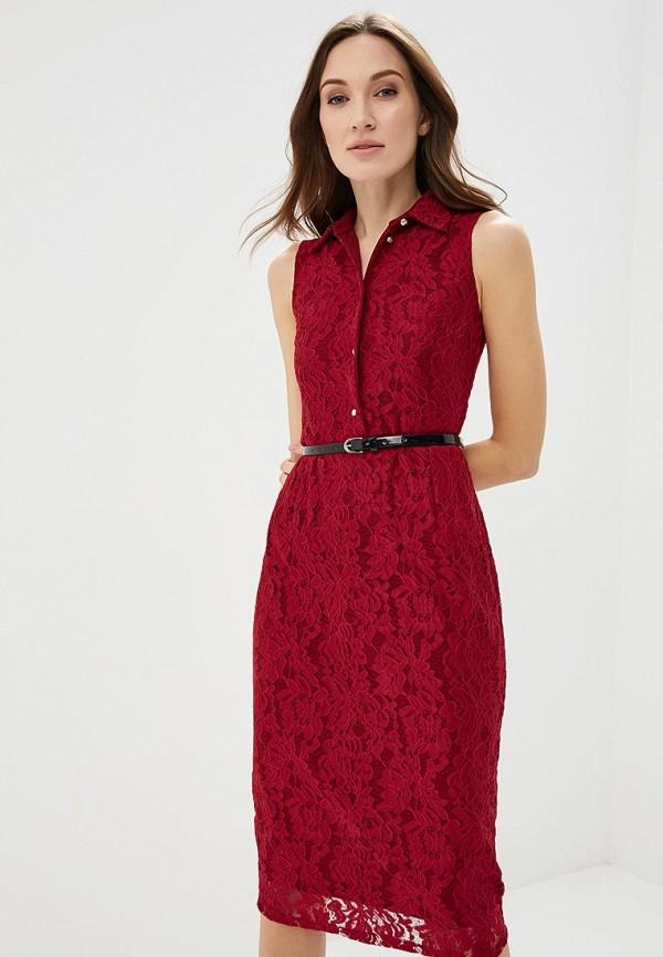 Купить Платье Alina Assi, MP002XW13WBY, бордовый, Осень-зима 2017/2018