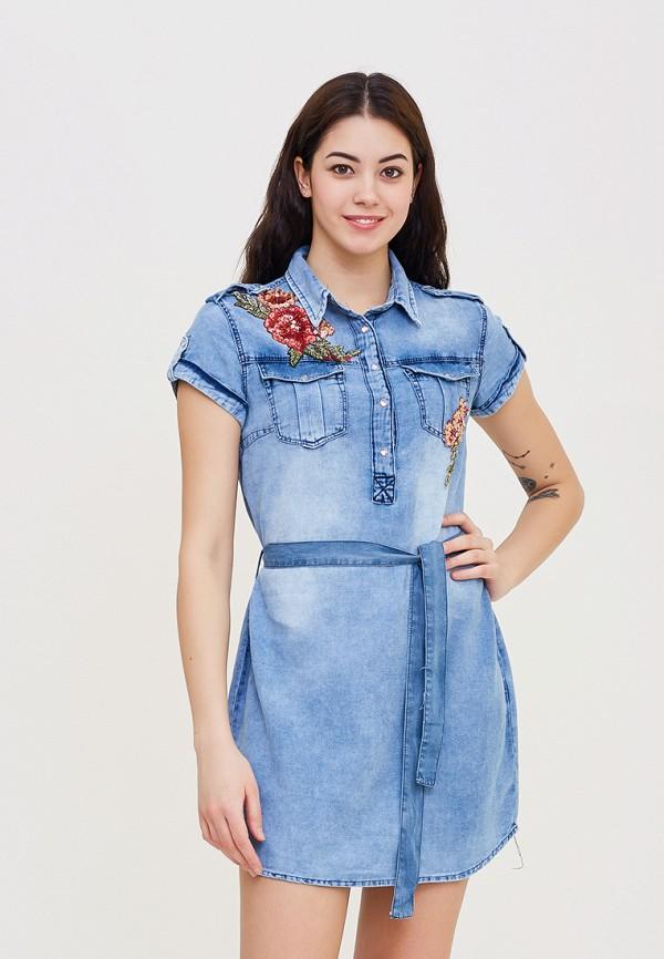 Купить Платье DSHE, MP002XW140UW, голубой, Весна-лето 2018