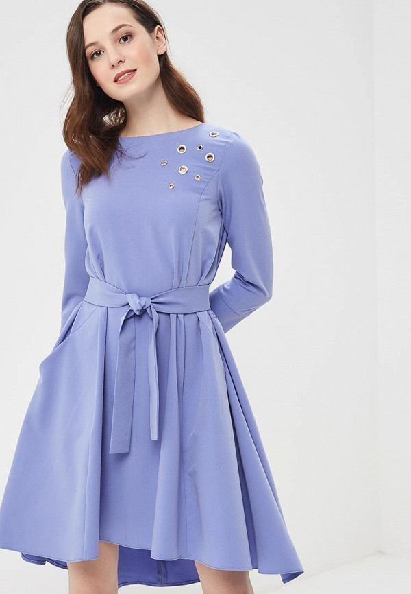 Купить Платье MARI VERA, MP002XW140W9, синий, Весна-лето 2018