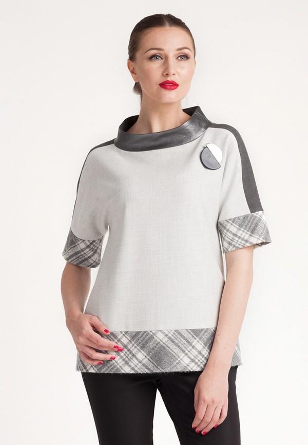 Купить Блуза Larro, MP002XW141ML, серый, Весна-лето 2018