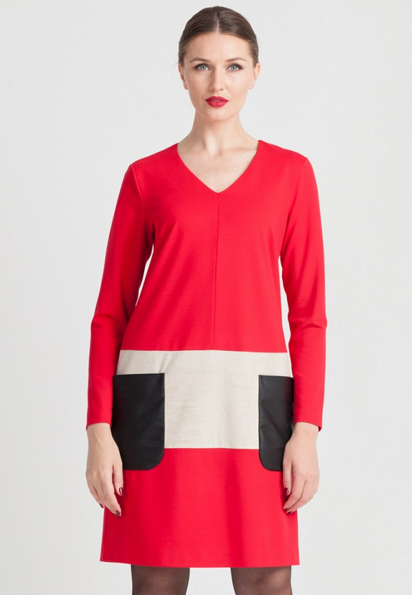 Купить Платье Larro, MP002XW141MN, красный, Весна-лето 2018