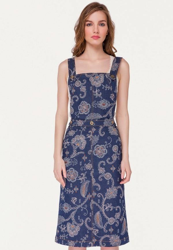Платье джинсовое Stimage Stimage MP002XW145JW блузки stimage блузка paisley chem
