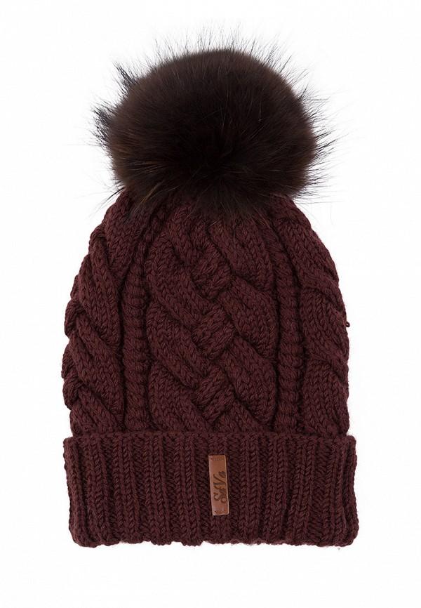 Купить Шапка Sava Mari, MP002XW151IS, коричневый, Осень-зима 2017/2018