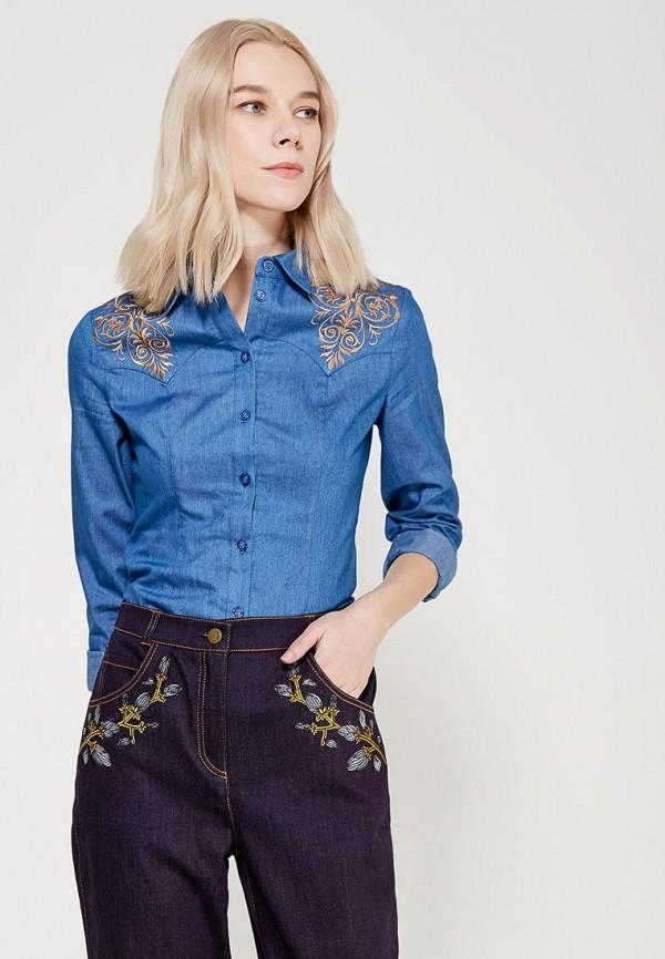 Рубашка джинсовая Ksenia Knyazeva Ksenia Knyazeva MP002XW15FOA юбки ksenia knyazeva юбка