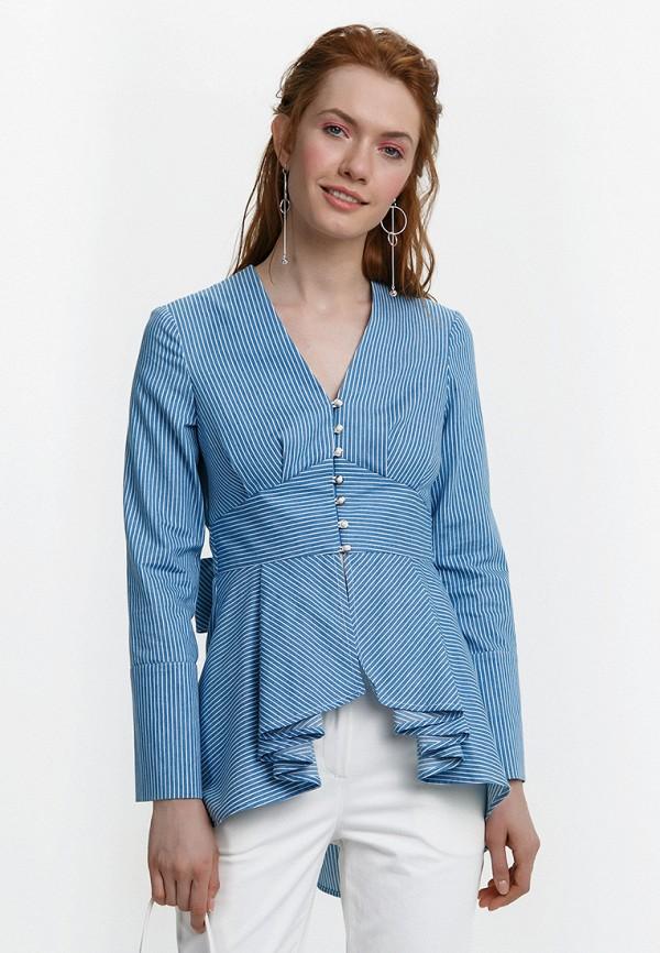 Купить Блуза Audrey Right, MP002XW15GCO, голубой, Весна-лето 2018