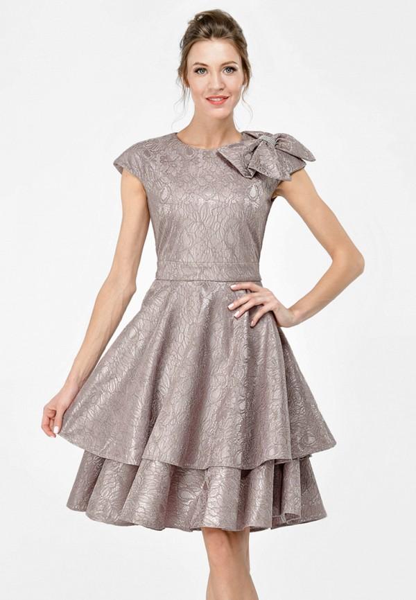 Купить Платье Alisia Fiori, Амели W, MP002XW15HOM, бежевый, Весна-лето 2018
