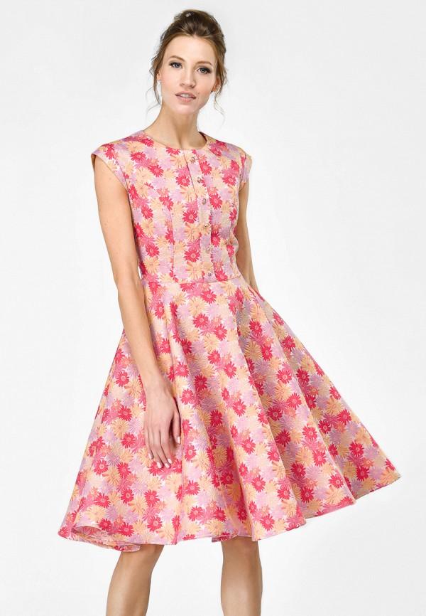Купить Платье Alisia Fiori, Белла Мелания Pink W, MP002XW15HOP, разноцветный, Весна-лето 2018